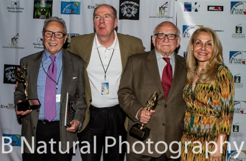 Ed Asner and Mark Rydell win Best Actor Awards at the New Media Film Festival